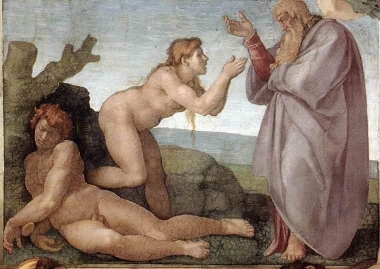 Michelangelo,_Creation_of_Eve_01